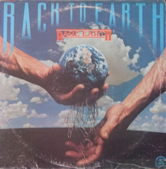 RARE EARTH - Back To Earth (1975)